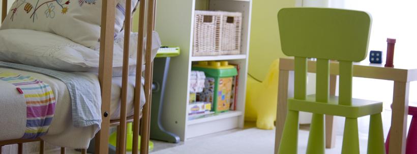 Feuchtigkeit in Kinderzimmer vehrindern