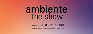 HUMEX S.A stellt auf der Ambiente Messe 2019 aus