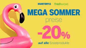 Mega Sommer Prese 20%