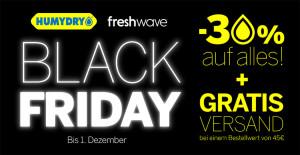 Black Friday mit Humydry!
